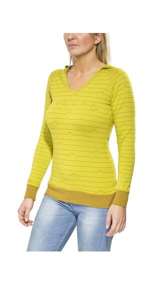 Millet LD Sparks - Sudadera con capucha Mujer - amarillo